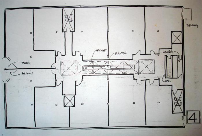 The ArteFactory Floor Plan_4th Floor